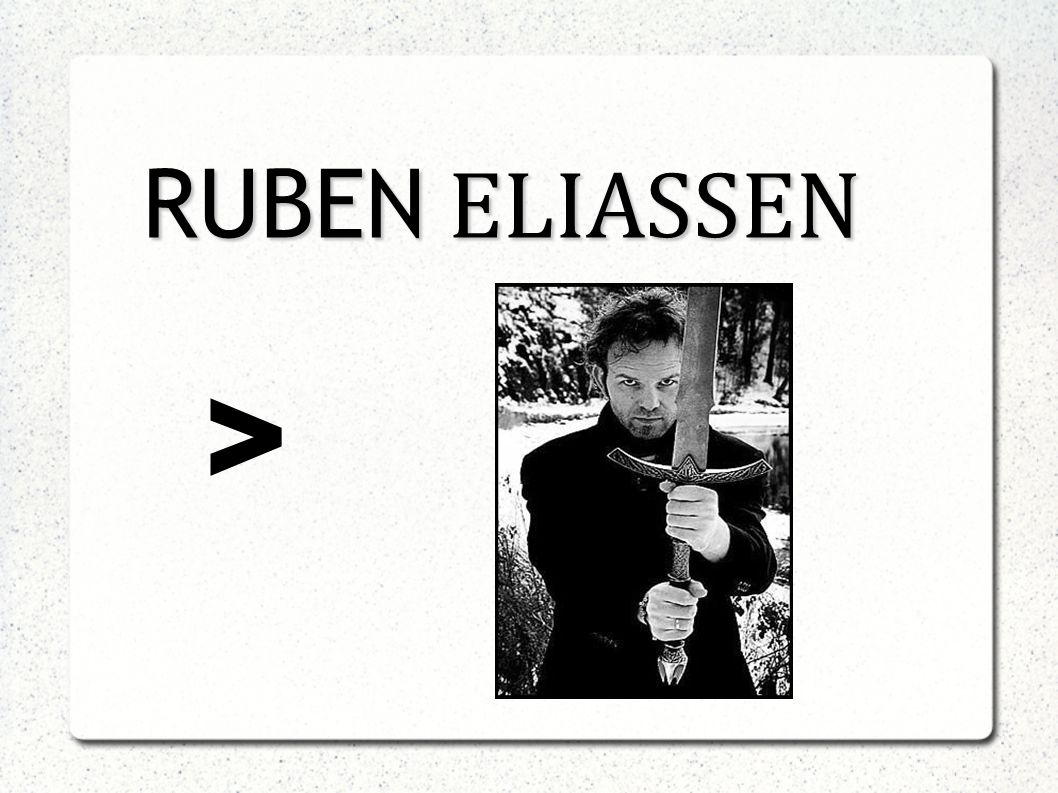 RUBEN ELIASSEN >
