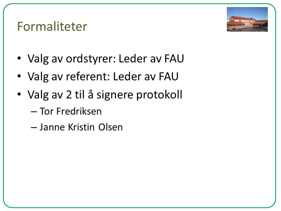 Årsberetning (Viktigste saker) – Få på plass en fungerende struktur i FAU arbeidet Lage et fungerende årshjul som hjelper nytt FAU å få oversikt over hva som skjer i løpet av et år.