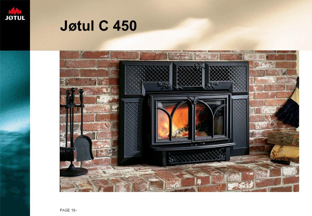 PAGE 18 - Jøtul C 450