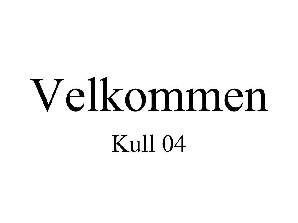 Velkommen Kull 04