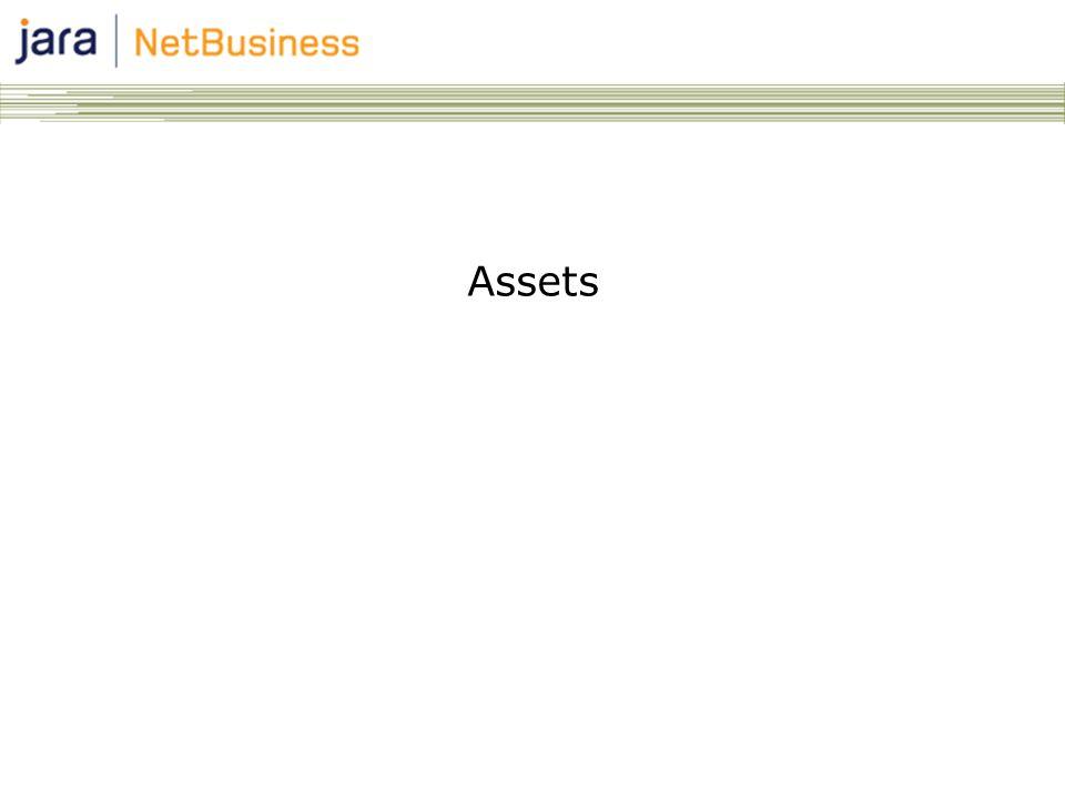 2 Asset modulen in Jara NetBusiness Denne modulen gir deg ―Oversikt over produktportefølje ―Muligheten til å midlertidig endre spesifikasjonen for produkter