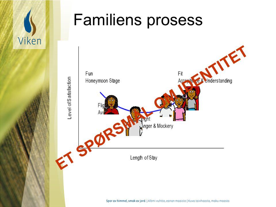 Familiens prosess ET SPØRSMÅL OM IDENTITET