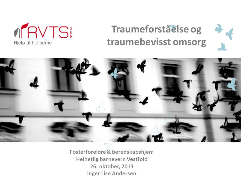 Hva er traumer, og hvordan oppstår traumatisering.