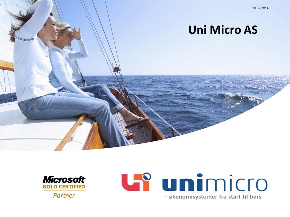 18.07.2014 Uni Micro AS