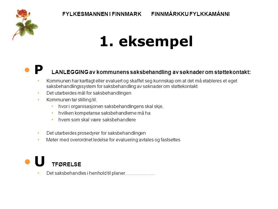 FYLKESMANNEN I FINNMARK FINNMÁRKKU FYLKKAMÁNNI 1.
