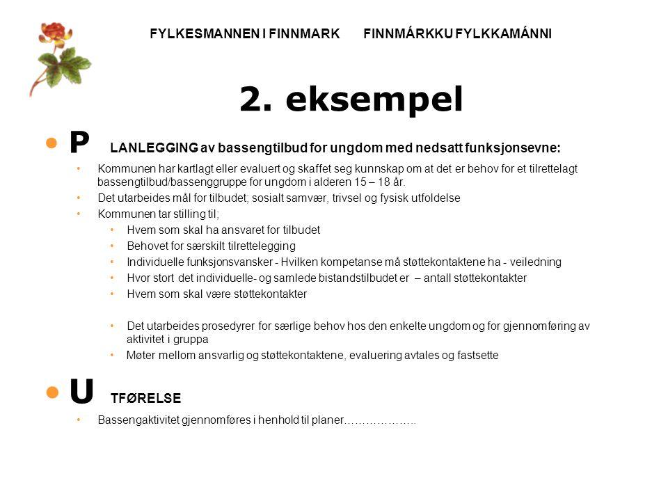 FYLKESMANNEN I FINNMARK FINNMÁRKKU FYLKKAMÁNNI 2.
