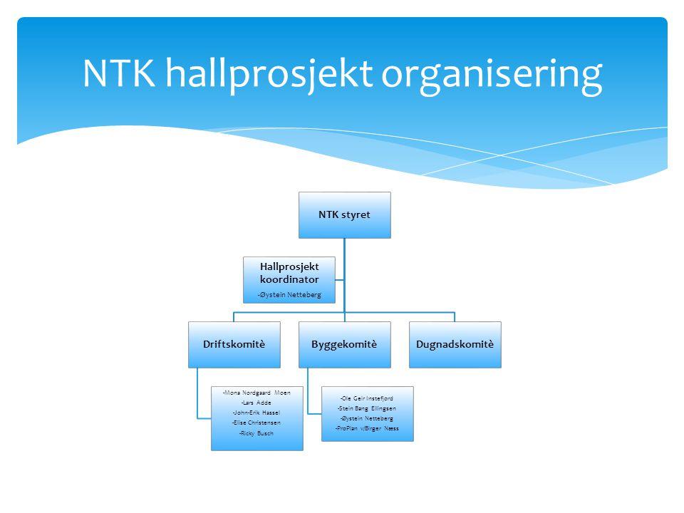 Styreleder Øystein Netteberg Sportslig ansvarlig Ben Øverland Informasjon/kommunikasjon John Dana Sponsor/marked/pr.