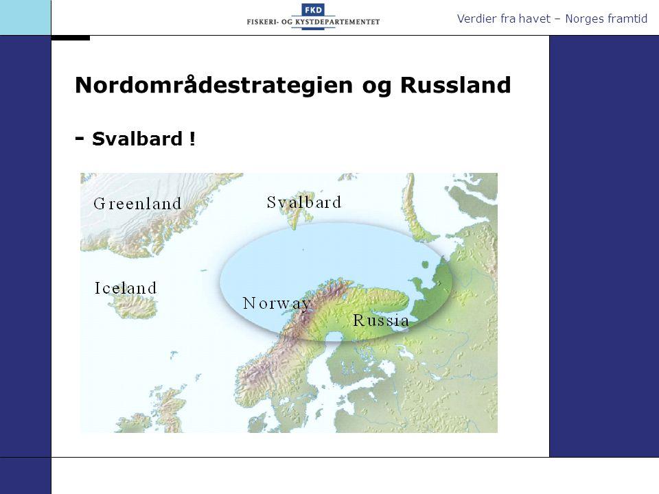 Verdier fra havet – Norges framtid Radionavigasjon forts.