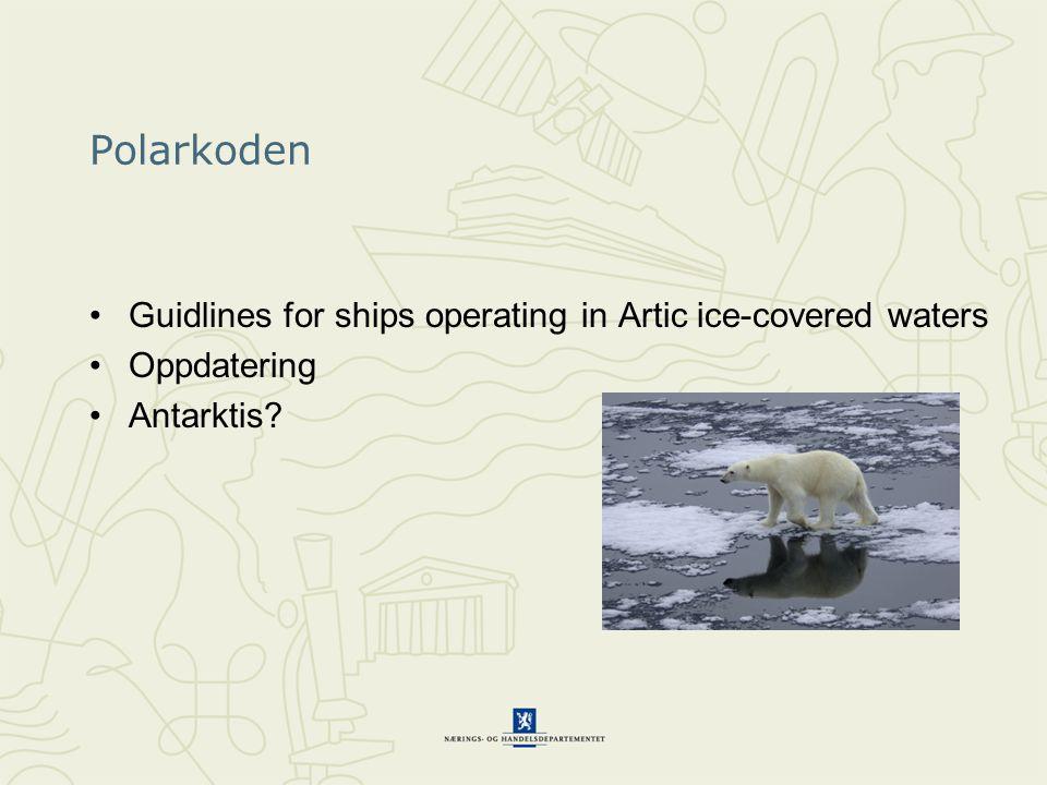 MARPOL International Convention for the Prevention of Pollution by Ships Revisjon Annex VI – destillat krav