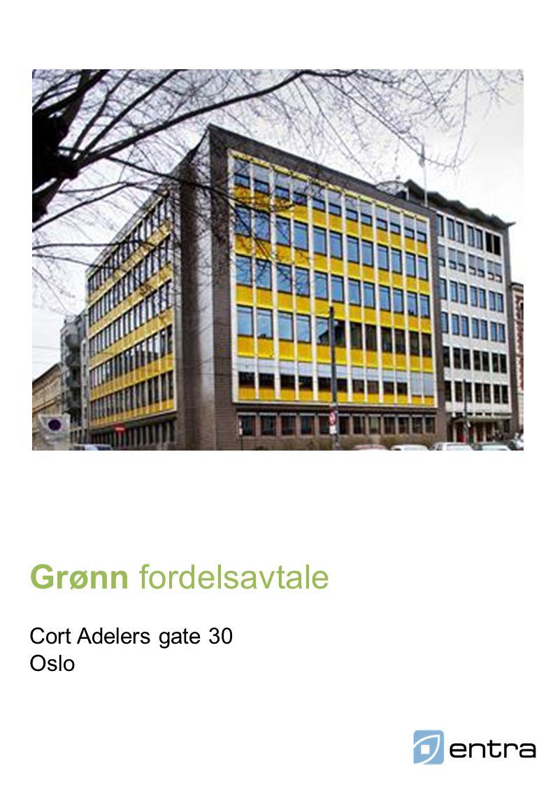 Grønn fordelsavtale Cort Adelers gate 30 Oslo