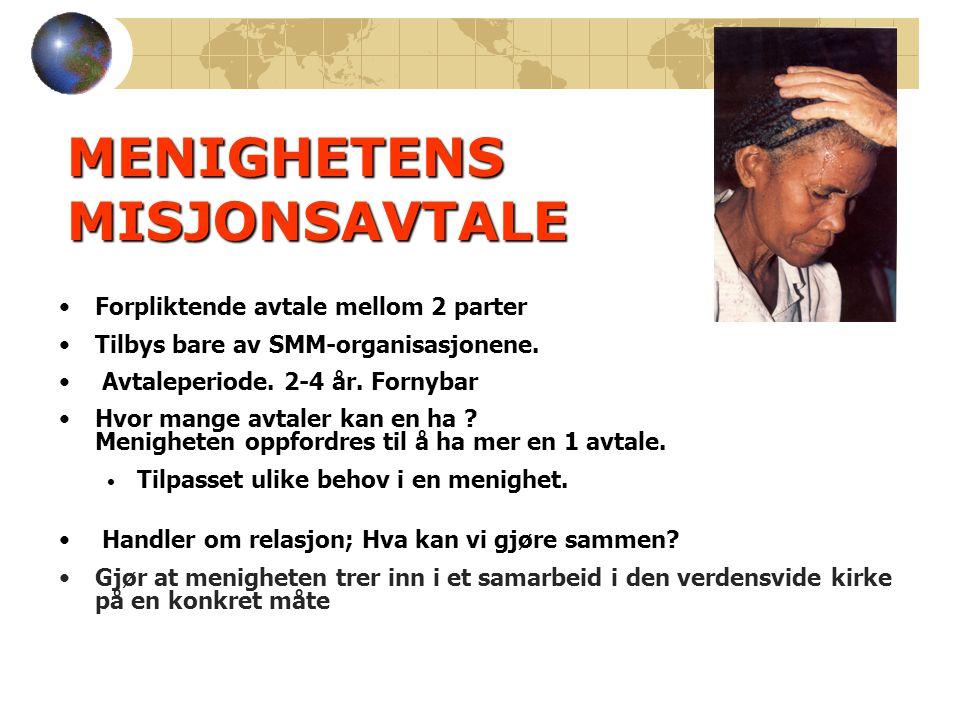 Menighetens behov for informasjon og organisasjonene.