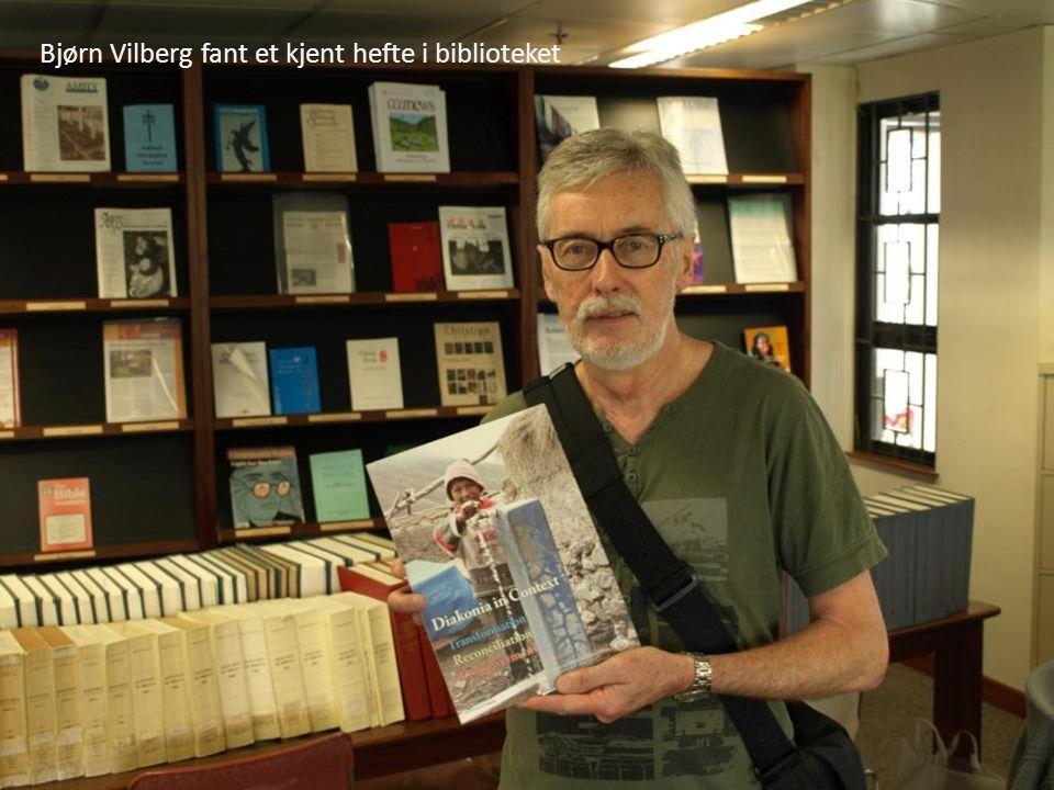 Bjørn Vilberg fant et kjent hefte i biblioteket
