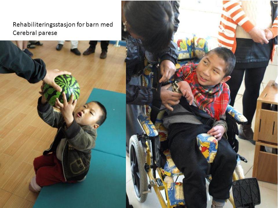 Rehabiliteringsstasjon for barn med Cerebral parese