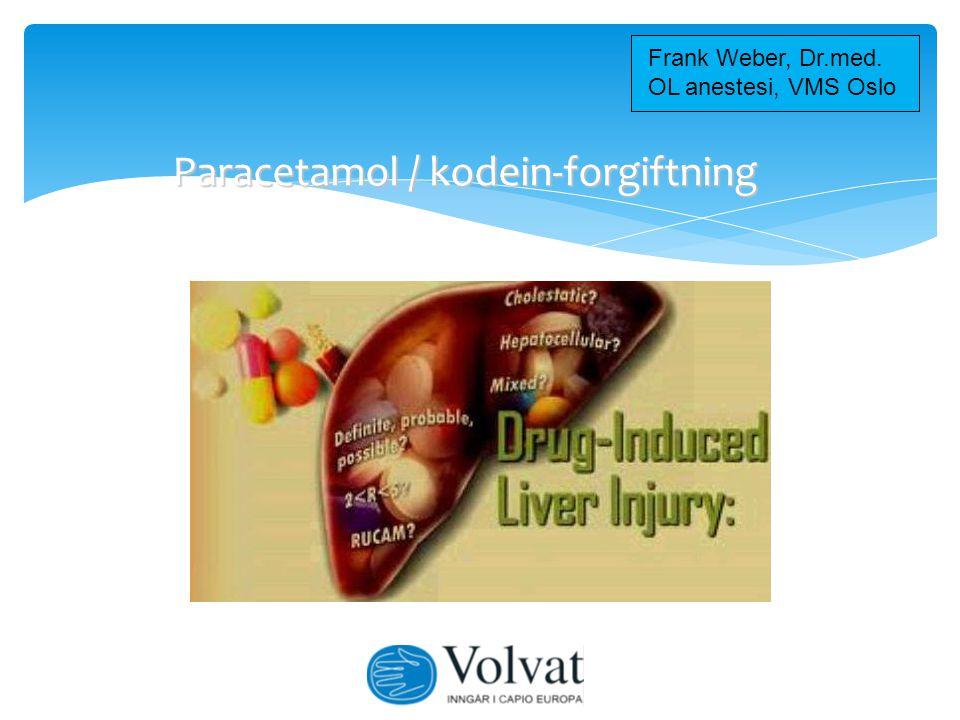Kodein metabolisme i leveren