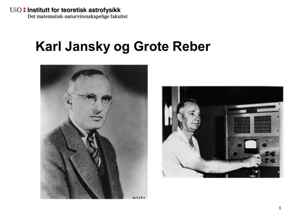 Karl Jansky og Grote Reber 6