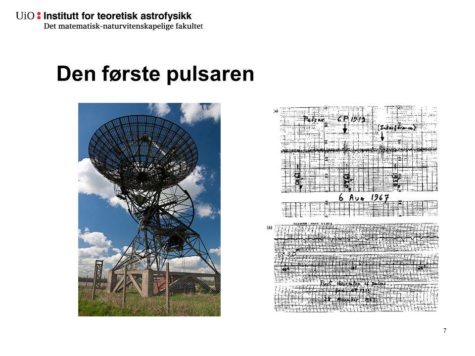 AST1010 - Universet18 Oppsamlingsskive rundt et sort hull