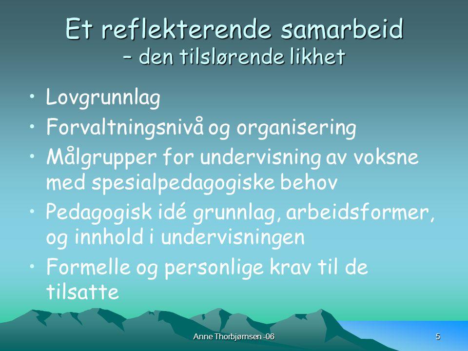 Anne Thorbjørnsen -066 Hva har vi gjort.