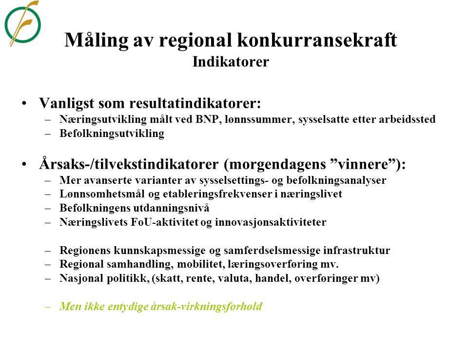 Geografien i det nye Sverige-Norge- programmet