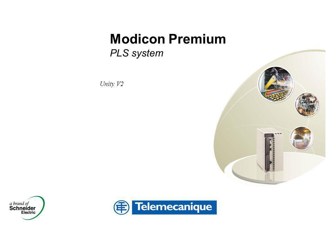 Unity V2 Modicon Premium PLS system