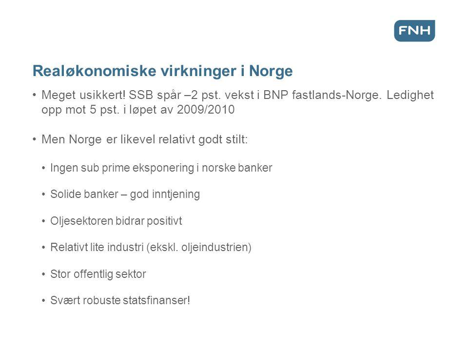 Realøkonomiske virkninger i Norge Meget usikkert. SSB spår –2 pst.