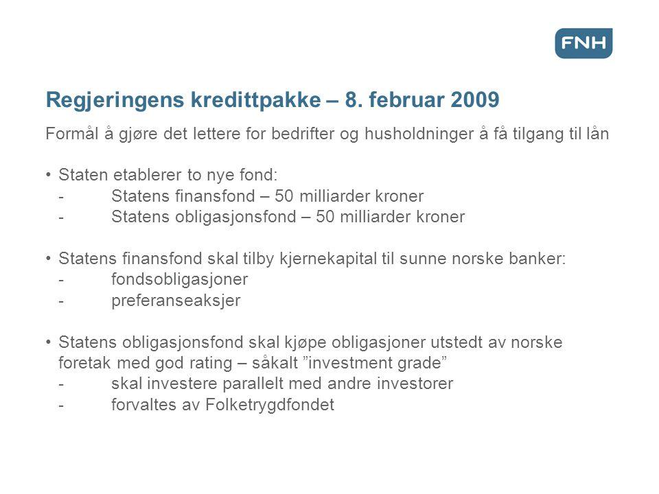Regjeringens kredittpakke – 8.