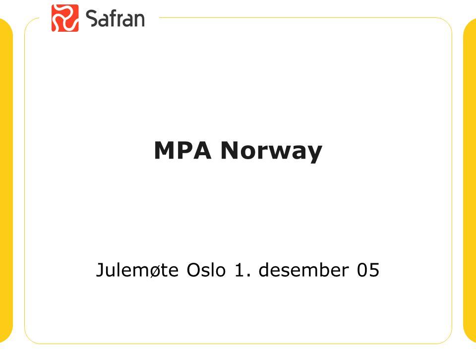 MPA Norway Julemøte Oslo 1. desember 05