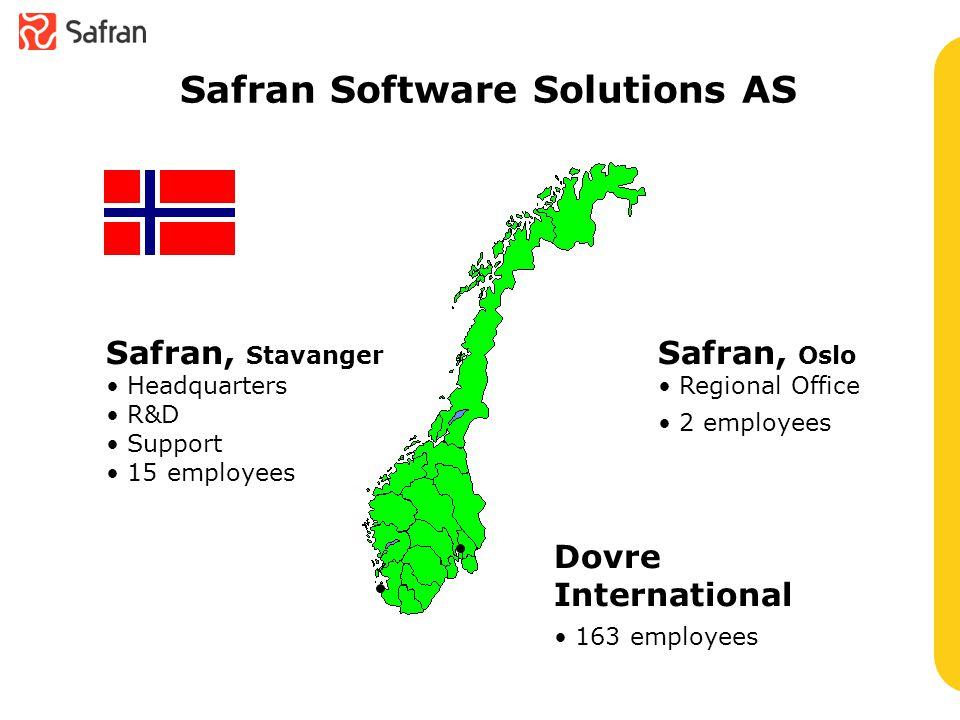 Safran Clients, a selection