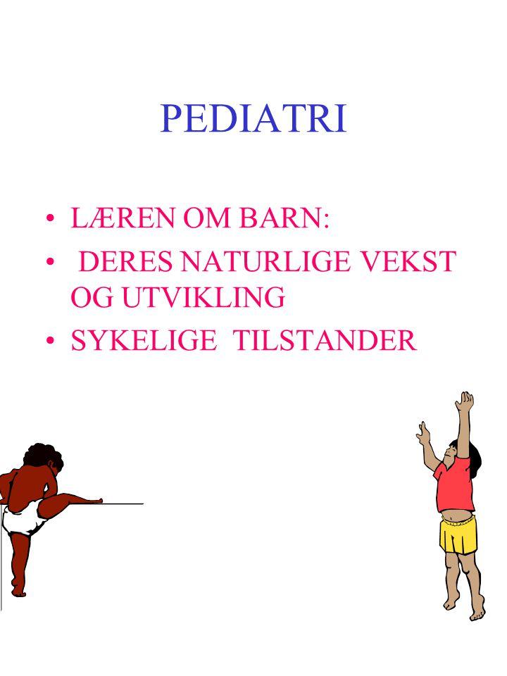 Barn = 0-18 år 16 år helserettslig selvbestemmelsesrett Barn's utvikling Freud Erikson Piaget