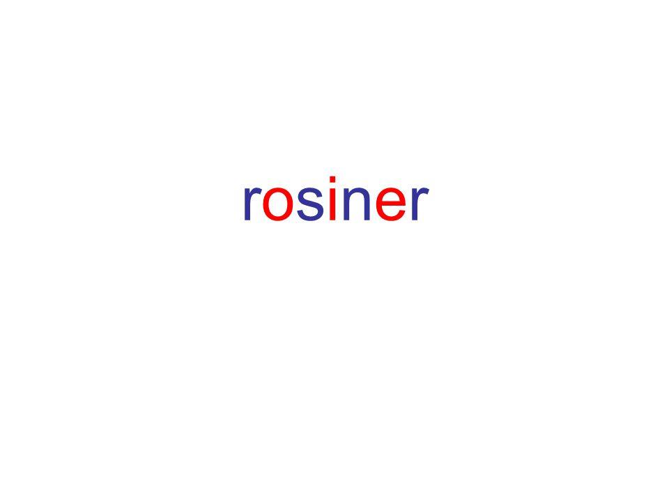 rosinerrosiner
