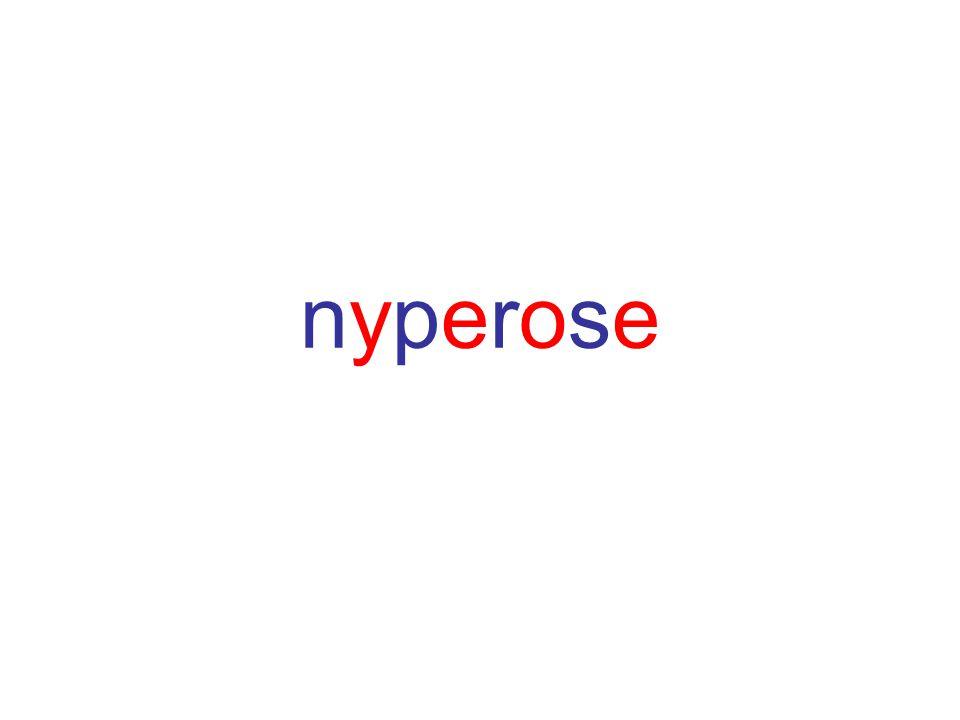 nyperosenyperose