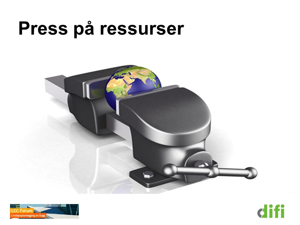 Press på ressurser