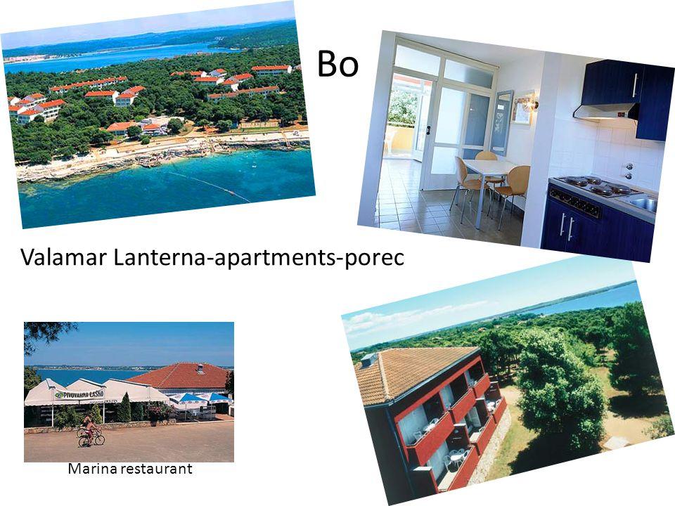 Bo Marina restaurant Valamar Lanterna-apartments-porec