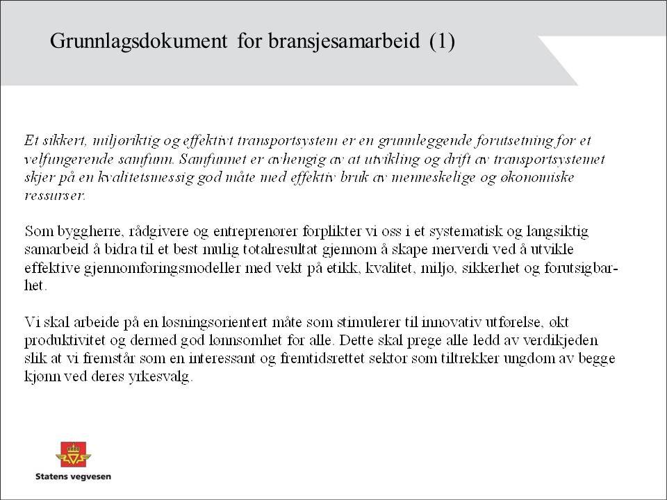 Grunnlagsdokument for bransjesamarbeid (1)