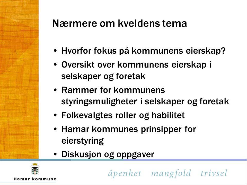 Kilde: Eierskapsmelding Bergen kommune