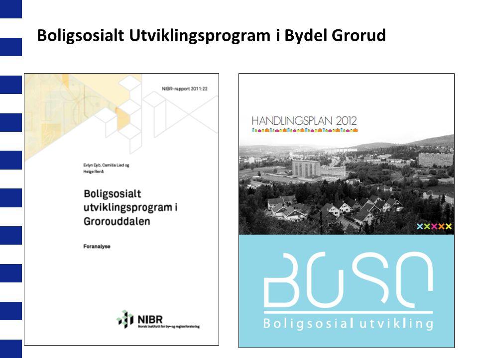 26 Boligsosialt Utviklingsprogram i Bydel Grorud