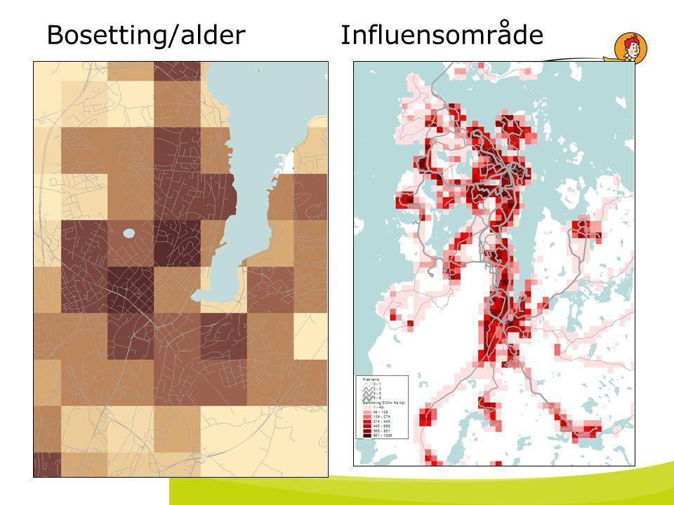 18. juli 2014 Bosetting/alder Influensområde