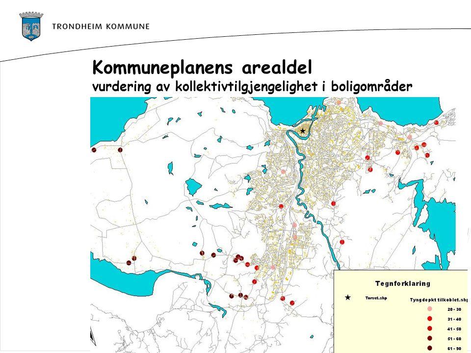 Kommuneplanens arealdel vurdering av kollektivtilgjengelighet i boligområder