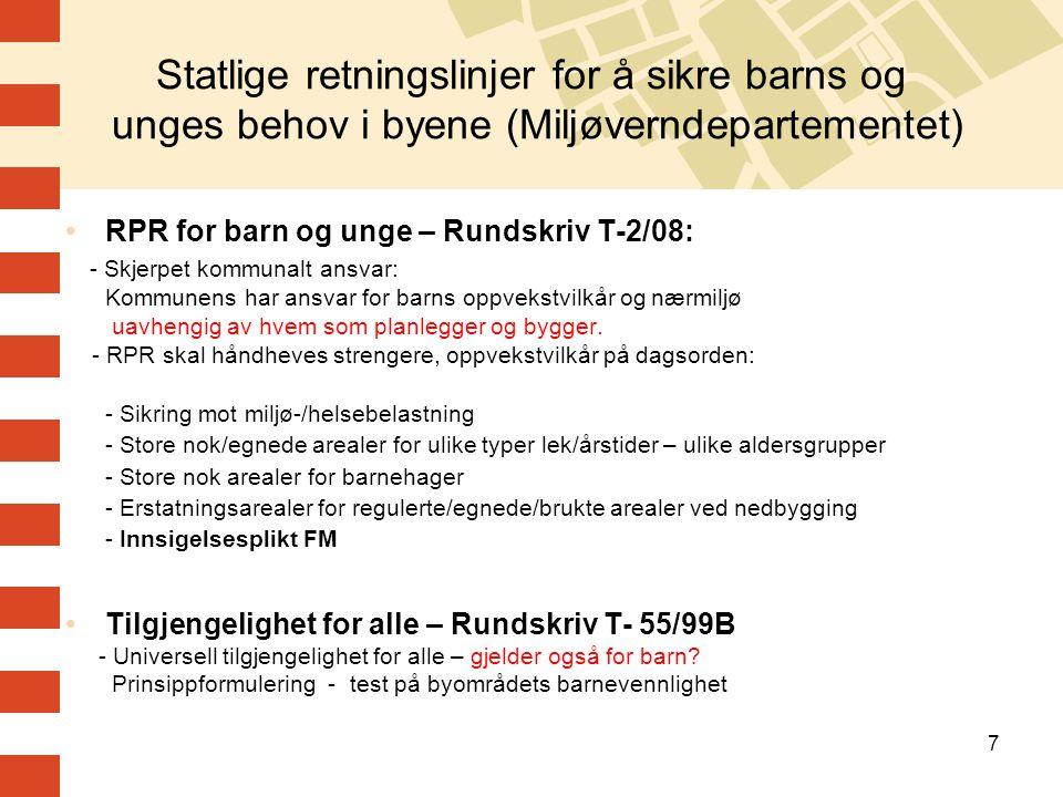 8 Bokvalitet – planstrategier i Oslo - arenaer og verktøy Kommuneplan for Oslo 2008-2025 Kommunedelplaner KDP for grøntstruktur KDP for torg- og møteplasser Overordnede plangrep – strukturer Reguleringsplaner 90 % privatinitierte Lover, normer, forskrifter Ny norm for leilighetsfordeling Nye normer for felles uteareal i boligprosjekter
