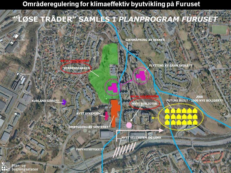 2000 PAPYRUSBYGGET? Områderegulering for klimaeffektiv byutvikling på Furuset