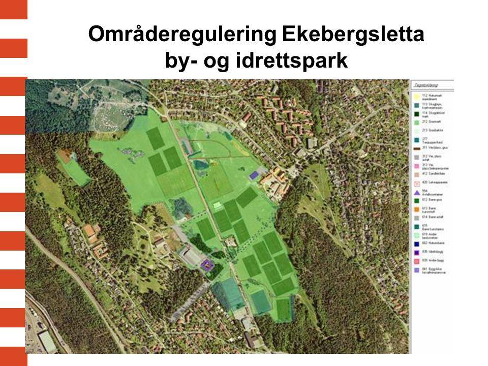 Områderegulering Ekebergsletta by- og idrettspark