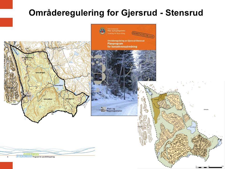 Områderegulering for Gjersrud - Stensrud