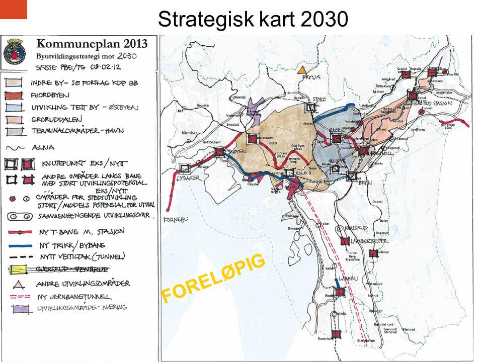 Strategisk kart 2030 FORELØPIG