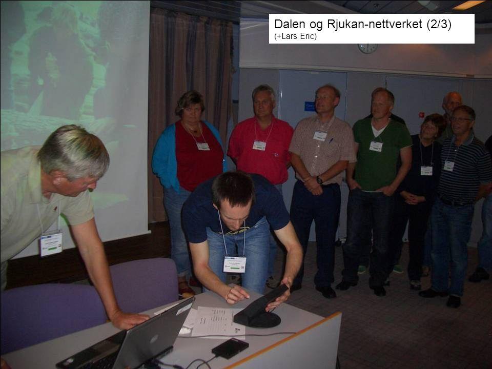 Dalen og Rjukan-nettverket (2/3) (+Lars Eric)