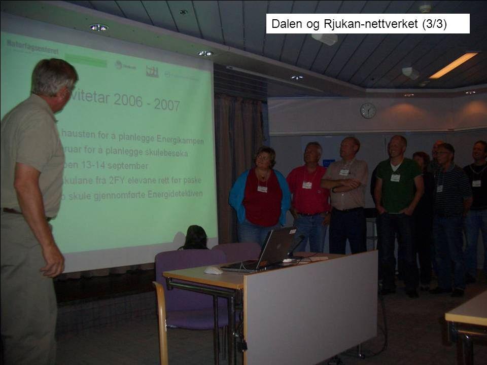 Dalen og Rjukan-nettverket (3/3)