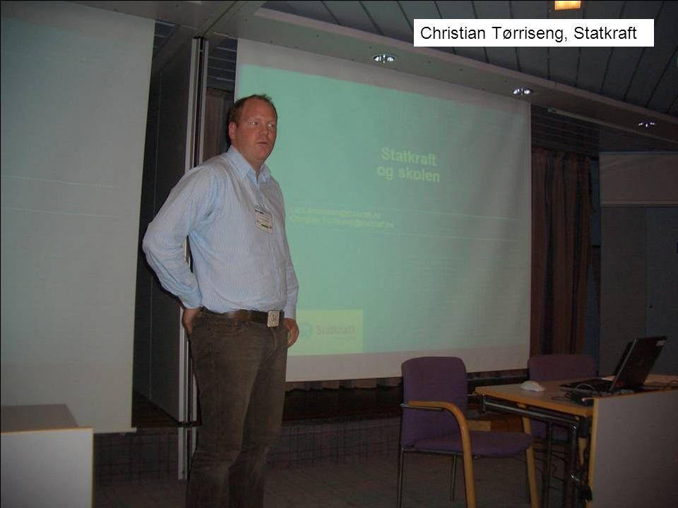 Christian Tørriseng, Statkraft