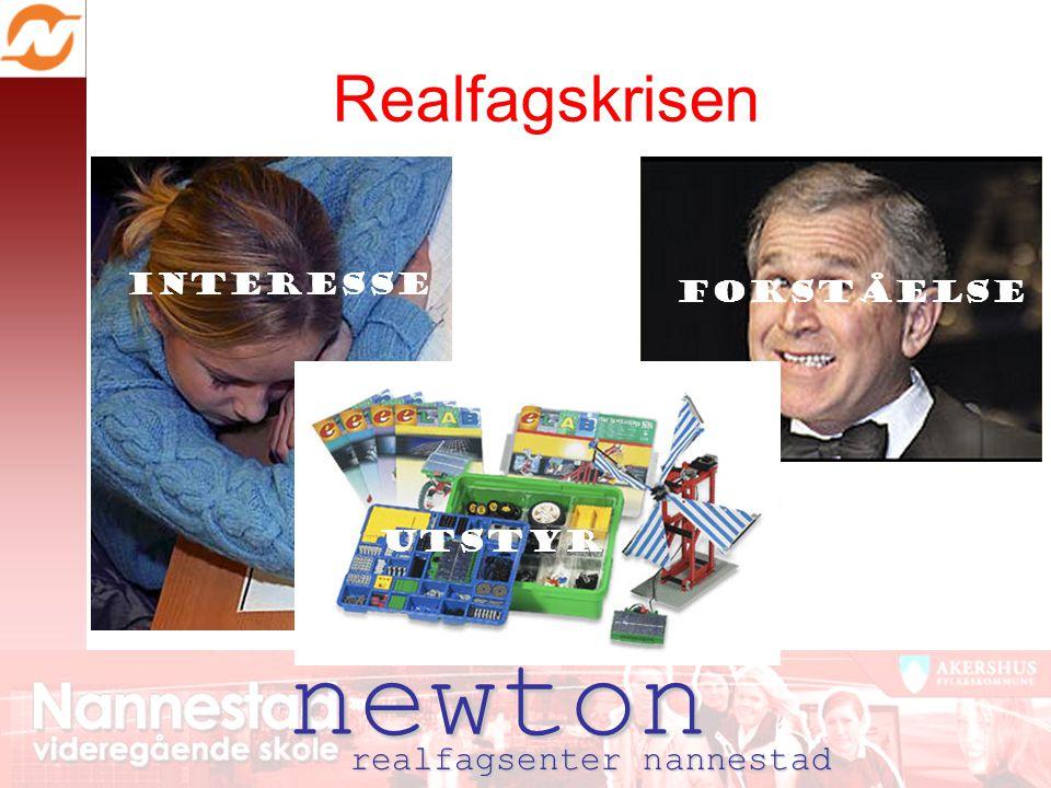 newton Realfagskrisen realfagsenter nannestad Interesse forståelse utstyr