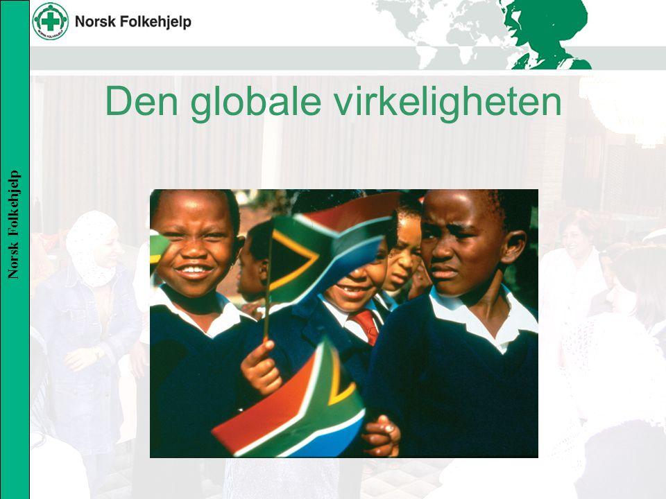 Norsk Folkehjelp Sentrale temaer Risikofaktorer og trusler Tusenårsmålene De største utfordringene: –Hva vil Norge gjøre.