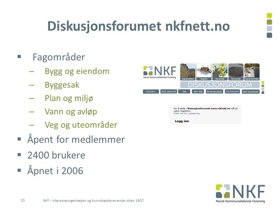 Messen Miljø & Teknikk  Eies av NKF og KS  Tre dager hvert 3.