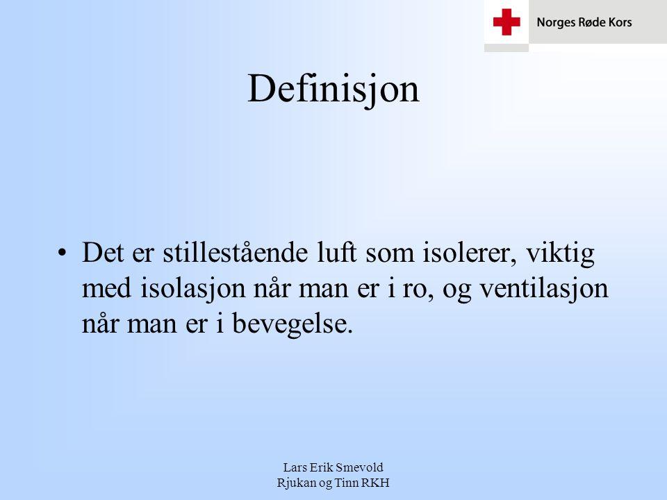Lars Erik Smevold Rjukan og Tinn RKH Hvordan Skjer Varmetapet.