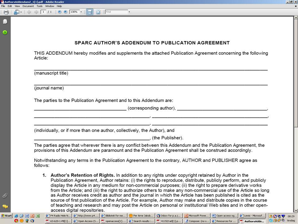 Egenarkivering av tidskriftsartikler FRIDA er nå komplettert med en modul for fulltekst innlevering av (d.v.s.